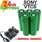 USA SONY INR 18650 VTC6 3000mAh Battery for SMOK Va.pe Mods FREE CASE LOT