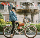 Electric Beach Cruiser Bike Scooter Electric E Ebike 36V 250W Bicycle For City
