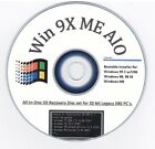 Windows ME, 98 Second Edition,95 a,b,c MULTI WINDOWS 9X BOOT INSTALL DISK