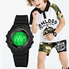 SMAEL Men Tactical Military Sport LED Digital Analog Army Waterproof Wrist Watch image