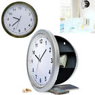 Wall Clock Secret Jewelry Money Security Box Hidden Storage Home Safety Acces