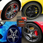 SCUFFS TO Protect CAR ALLOY WHEELS + STYLING COLOURS 1 STRIP or ADD MORE Strips