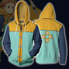 Seven Deadly Sins Grizzly's Sin Jacket King/Harlequin Hoodie Cosplay Sweatshirt