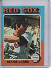 1975 TOPPS #379 BERNIE CARBO BOSTON RED SOX FREE SHIPPING