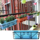 Hanging Balcony Flower Pot Brackets Holder Rack Plant Container Accessories