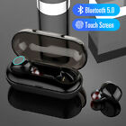Touch Wireless Bluetooth V5.0 Headset Stereo Headphone Earbud For iPhone Samsung