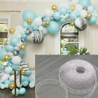 Внешний вид - 5m Balloon Chain Tape Arch Connect Strip for Wedding Birthday Party Decor Tools