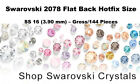 Swarovski 2078 Flat Back Hotfix Size SS 16 (3.90 mm) – Gross/144 Pieces Colors