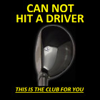 #1 DRIVING 13° i-Driver Hybrid Iron Wood Rescue Golf Club New for sale  Shipping to South Africa