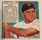 Vern Stephens Infield Boston Red Sox 1952 Red Man Chewing Tobacco Baseball Cards