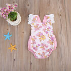 Sleeveless Infant Baby Girls Romper Bodysuit Jumpsuit Clothes Outfits 0-24M