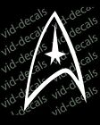 Star Trek Federation Starfleet logo sticker decal free shipping. on eBay