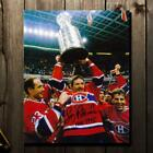 Larry Robinson Montreal Canadiens 1986 STANLEY CUP Autographed 8x10
