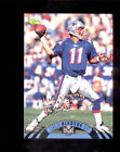 1995 NFL Experience DREW BLEDSOE New England Patriot Printer's Proof Insert Card