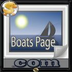 BoatsPage.com Great Domain for Repairs, Sailor, Towing, Dealership,Shows, Yachts