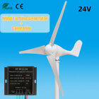 500W Wind Turbine Generator 12V/24V 3 Blade With Power Charge Controller