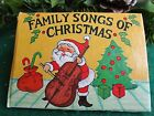 "VINTAGE 80'S SANTA ON COVER MINI ""FAMILY SONGS OF CHRISTMAS"" BOOK ORNAMENT"