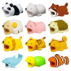 12 Pieces Cable Bite Animals Prime Cable Biters Lightning Cable Accessory for