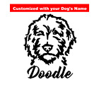 Doodle Decal  Labradoodle Decal  Golden Doodle Decal  Personalized Dog Decal