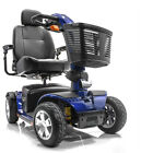 Pride VICTORY SPORT Mobility Scooter 4-Wheel S710DXW Viper Blue used + Basket $1925.0 USD on eBay