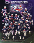 New England Patriots 6X Super Bowl Champions Team Composite (Select Year)