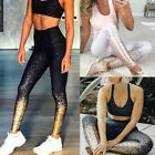 Damen Leggins Leggings Hoch Taile Traininghose Fitness Jogginghose Sport Yoga