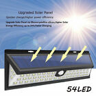 8/10pcs 54 LED Solar Power Light Motion Sensor Outdoor Security Lamp Waterproof