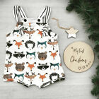 Newborn Kid Baby Girls Boys Animal Romper Jumpsuit Outfit Cotton Trousers Summer
