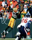 Green Bay Paskers Donald Driver Autographed RP Photo