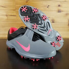 Nike TW '17 Tiger Woods Golf Shoes Grey Pink Punch Black SZ  880955-003