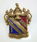 Gold Filled PAR ONERI Autralian Army Corps Transport Division Pin with Enamel