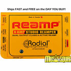 Radial X-Amp Reamplifier Re-amper Xamp Reamping ReAmper Device MAKE OFFER! NEW!