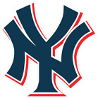 New York Yankees NY Logo Vinyl Sticker Decal Cornhole Car Truck Bumper Wall on Ebay