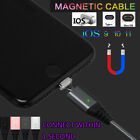 1M 2.4A Magnetic Data Transfer Charger Charging Cable For Type-C/IOS/Micro USB