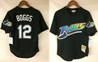 Wade Boggs Tampa Bay Devil Rays Mitchell & Ness 1998 Authentic Batting BP Jersey