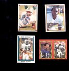 1984-89 MARK DUPER Miami Dolphins Sticker Card Lot Topps Panini Rookie