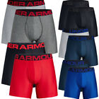 Under Armour Mens Tech 6 inch Boxerjock 2 Pack Boxer Shorts Pants Underwear