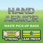 On Board Hand Armor Dog Poop Bags | Extra Thick Dog Waste Bags with Leak Pro