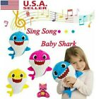 Baby Shark Plush Singing Music Toy Cartoon Doll Musical Toy Birthday Party Gift