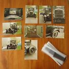 MODEL T FORD photo lot with 30+ Negatives and 9 Prints