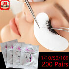 Under Eye Gel Pad Patch Lint Free Eyelash Extension Tape Eyelash Pads 50/200pair