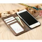 For iPhone X / XS / 8 / 7 / 6S Plus Luxury Leather Flip Wallet Stand Case Cover
