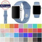 Replacement Silicone Wrist Bracelet Sport Band Strap For Apple Watch 42mm 38mm