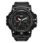 SMAEL Men Sport Digital Waterproof Date Military Tactical Quartz Wristwatches US image