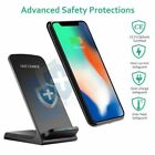 Qi Wireless Charger Quick Charging Stand Dock For iPhone 8/8Plus Samsung Huawei