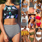 Women HOT Bandage High Waist Bikini Set Push Up Floral Swimwear Swimsuit Bathing $10.06 USD on eBay