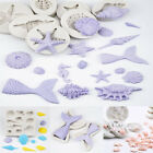 3D Ocean Silicone Mold Sea Shell Fondant Sugarcraft Mould Cake Decor Baking Tool