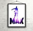 UNOFFICIAL PERSONALIZED Fortnite Style Dance PRINT/POSTER Bedroom Decor