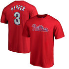 Bryce Harper Philadelphia Phillies 3 Majestic MLB Authentic Men's Jersey T-Shirt