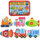 Developmental Baby Toys Wooden Puzzle Cartoon Learning Educational Kids Toy